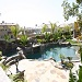 landscaping and rock pool in Riverside, California