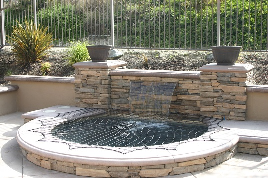 Inground Spas With Stack Stone : Google image result for http larapools